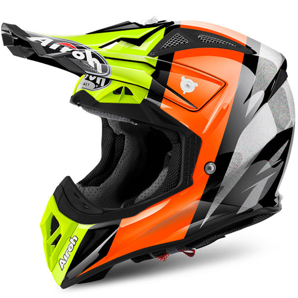 AIROH AVIATOR 2.2 REVOLVE ORANGE  HELMET