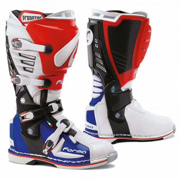 FORMA PREDATOR BOOTS (RED-BLUE)