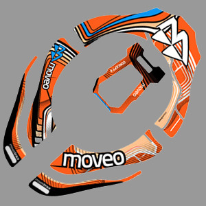 MOVEO Pro Concept II Stickers Kit
