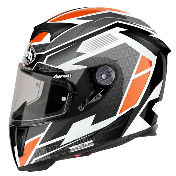 AIROH GP500 REGULAR ORANGE HELMET