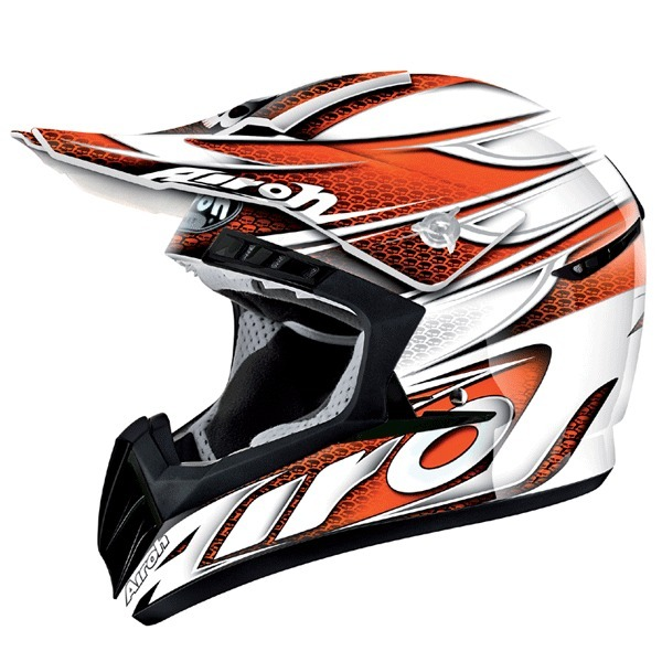 [특가]AIROH CR901 LINEAR HELMET (ORANGE)